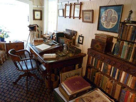 Ewelme cottage - private study