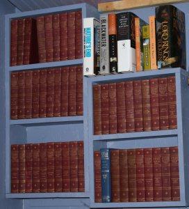 Harvard classics 'five foot shelf' - from Pseudo Intellectual Reviews blog