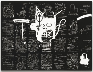 Jean-Michel Basquiat, Untitled piece (1983) from MoMA Collection